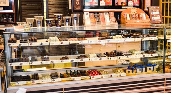 Chocolats Leonidas disponible à La Boulangère