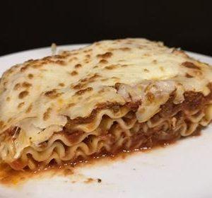 Lasagne viande legumes