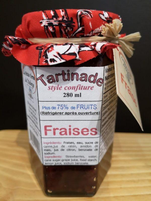 Tartinade Fraises