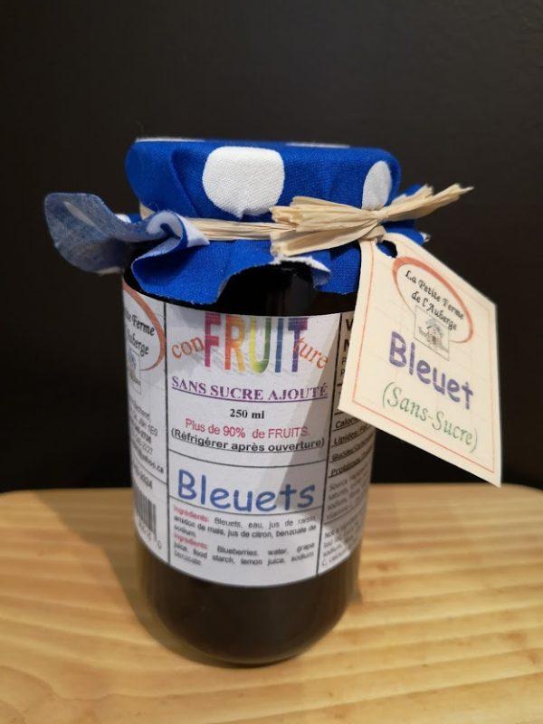 Tartinades bleuets
