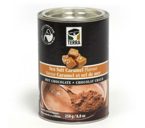 chocolat chaud sel de mer et caramel