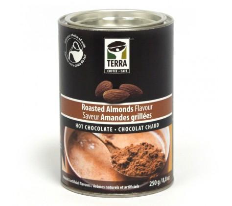 chocolat chaud amandes grillées