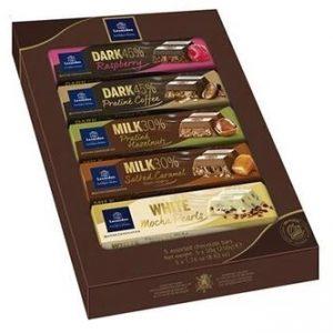 Assortiment de 5 Tablettes de chocolat belge Léonidas