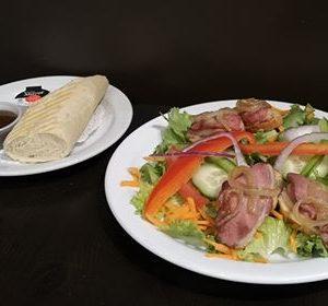 Salade canard