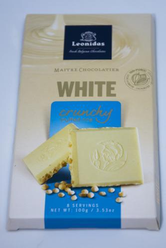 Tablette chocolat blanc100g x6