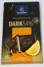 Tablette noir70% orange 110g x6